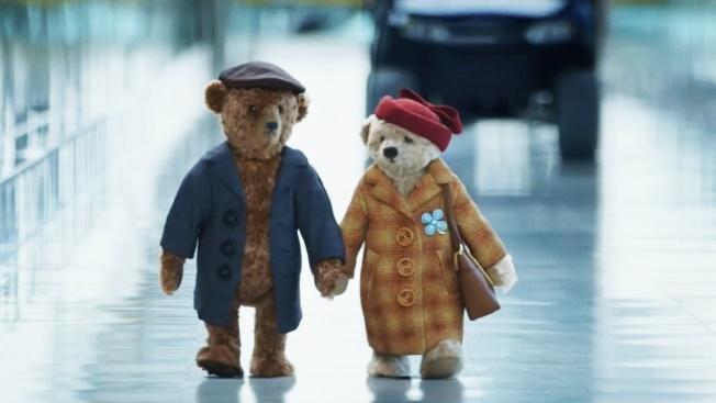 Heathrow -Návrat domů na Vánoce