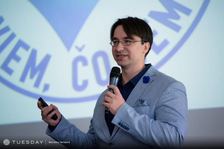Petr Michl vystupoval již v loňském ročníku PR v digitální éře
